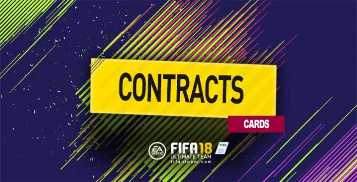 Guia de Cartas de Contratos para FIFA 18 Ultimate Team