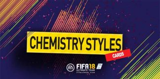 Guia de Cartas de Estilos de Química em FIFA 18