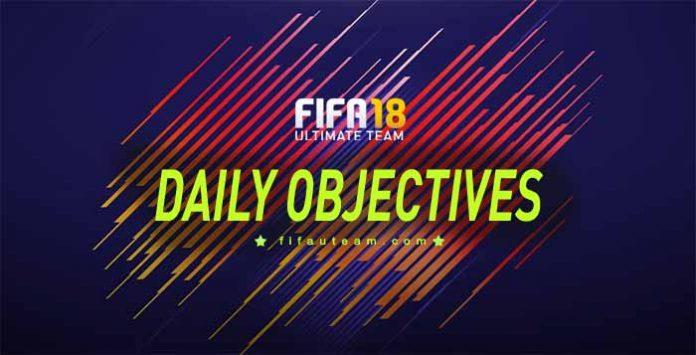 Lista de Objetivos Diários e Recompensas para FIFA 18