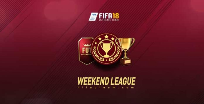 Calendário do Weekend League para FIFA 18 Ultimate Team