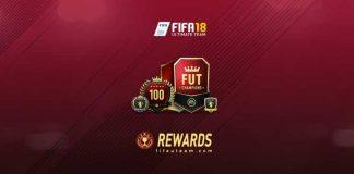 Premiação FUT Champions para FIFA 18 Ultimate Team