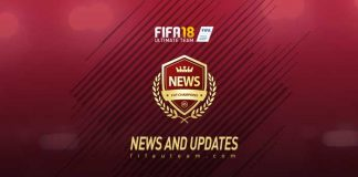Notícias de FUT Champions para FIFA 18 Ultimate Team