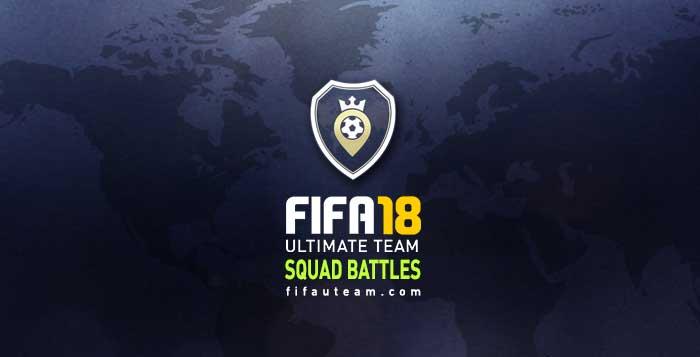 Premiação do Modo Squad Battles para FIFA 18 Ultimate Team
