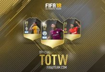 TOTW de FIFA 18 - Todas as Equipas da Semana de FUT 18