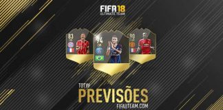 Previsão das Team of the Week de FIFA 18 Ultimate Team