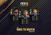 Guia das Cartas OTW de FIFA 18 Ultimate Team