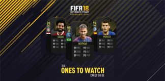 Guia das Cartas OTW de FIFA 18 Ultimate Team