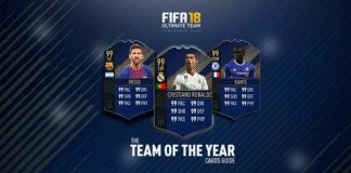 Guia de Cartas TOTY de FIFA 18 Ultimate Team