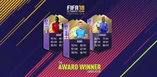 Guia de Cartas Award Winner para FIFA 18 Ultimate Team