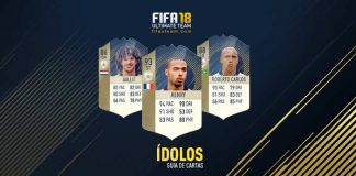 Guia de Cartas de Ídolos para FIFA 18 Ultimate Team