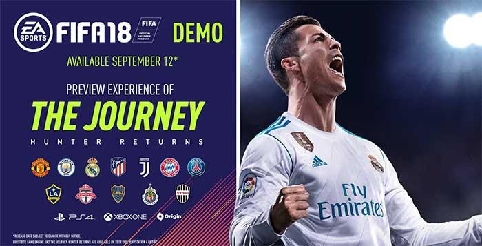 Demo de FIFA 18 - Feedback da Comunidade