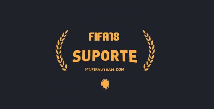 Contactar o Suporte da EA Sports para FIFA 18