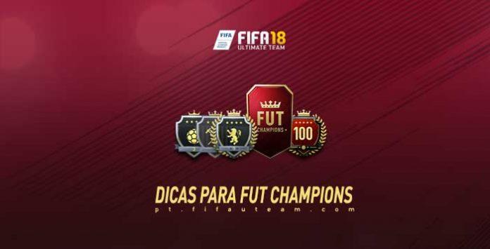 Dicas para FUT Champions no FIFA 18