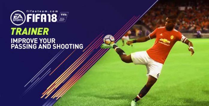 Trainer no FIFA 18 – Como Melhorar seus Passes e Chutes
