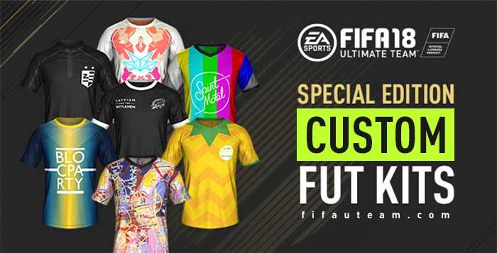 Todos os Equipamentos Personalizados de FIFA 18 Ultimate Team