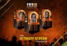 Guia das Cartas Ultimate Scream para FIFA 18 Ultimate Team