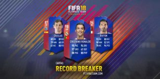 Guia de Cartas de Recordistas de FIFA 18 Ultimate Team