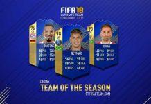 Guia de Cartas TOTS de FIFA 18 Ultimate Team