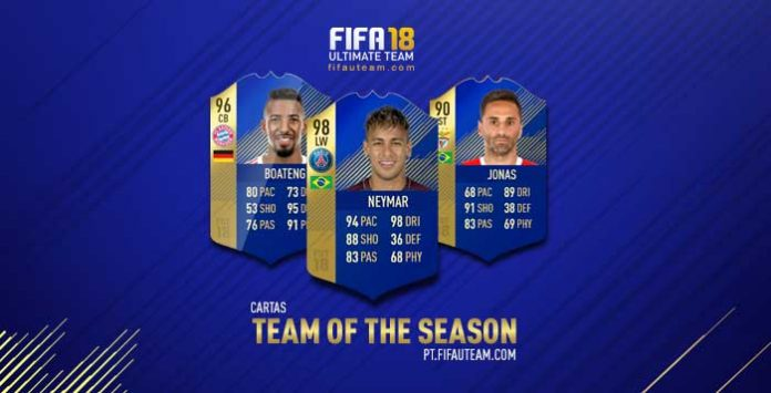 Guia de Cartas TOTS de FIFA 18 Ultimate Team