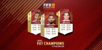 Guia das Cartas FUT Champions para FIFA 18 Ultimate Team
