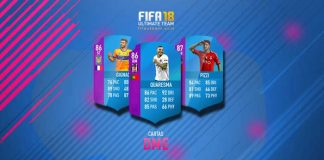 Guia das Cartas DME para FIFA 18 Ultimate Team
