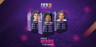 Guia de Cartas de Heróis para FIFA 18 Ultimate Team