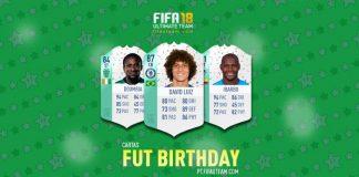 Guia de Cartas FUT Birthday para FIFA 18 Ultimate Team