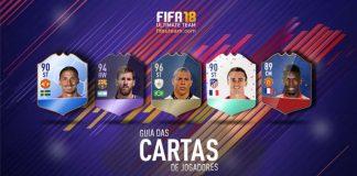 Guia de Cartas de Jogadores para FIFA 18 Ultimate Team
