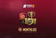 Prémios Mensais do FUT Champions para FIFA 18
