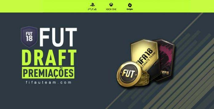 Premiação do Modo FUT Draft para FIFA 18 Ultimate Team