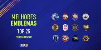 Os Melhores Emblemas para usar em FIFA 18 Ultimate Team