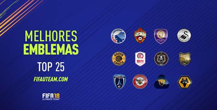 Itens do Clube para FIFA 18 - Equipamentos, Emblemas, Bolas e Estádios