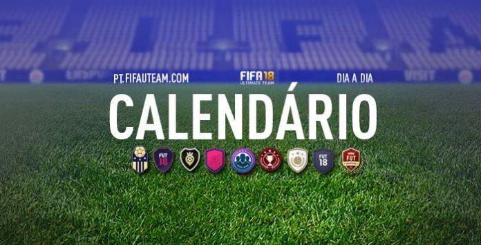 Calendário de FIFA 18 Ultimate Team