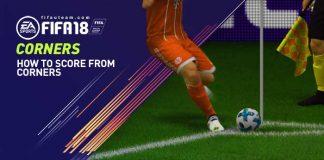 Como marcar gols de escanteio no FIFA 18