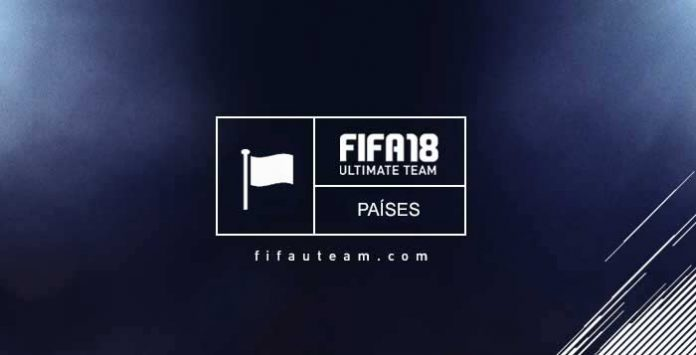 Guia dos Países para FIFA 18 Ultimate Team