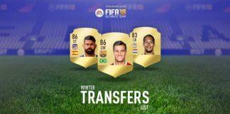 Lista Completa de Transferências de Inverno de FIFA 18