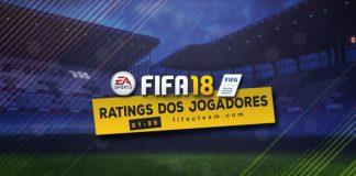 Guia do Rating dos Jogadores para FIFA 18 Ultimate Team