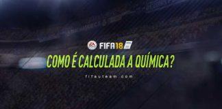 Como é Calculada a Química em FIFA 18 Ultimate Team