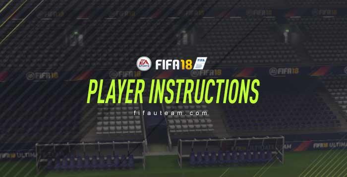 Guia das Instruções dos Jogadores para FIFA 18 Ultimate Team
