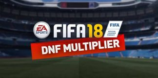 Guia do Multiplicador DNF para FIFA 18 Ultimate Team