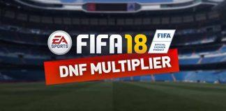 Guia do Multiplicador DNF para FIFA 18 Ultimate Team