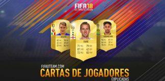 Cartas de Jogadores de FIFA 18 Explicadas