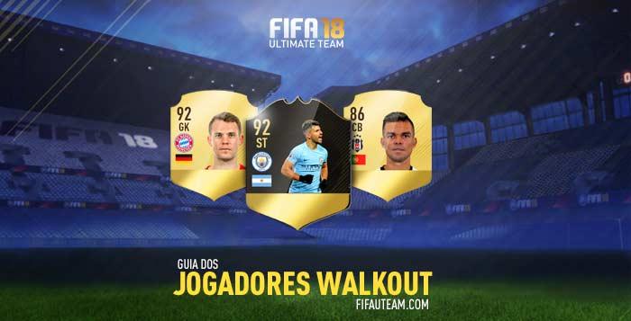 Guia dos Jogadores Walkout para FIFA 18 Ultimate Team