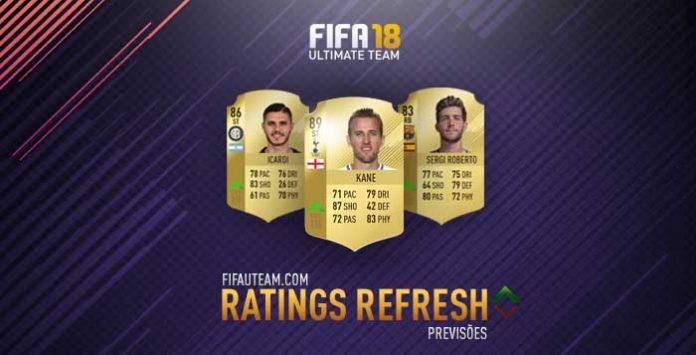 Previsão dos Upgrades de Inverno para FIFA 18 Ultimate Team