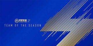 TOTS de FIFA 18
