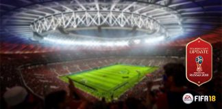 Os Estádios do FIFA 18 World Cup
