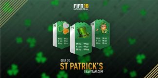 St Patricks Day para FIFA 18 Ultimate Team - Guia Completo