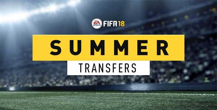Guia de Transferências de Verão de FIFA 18 Ultimate Team