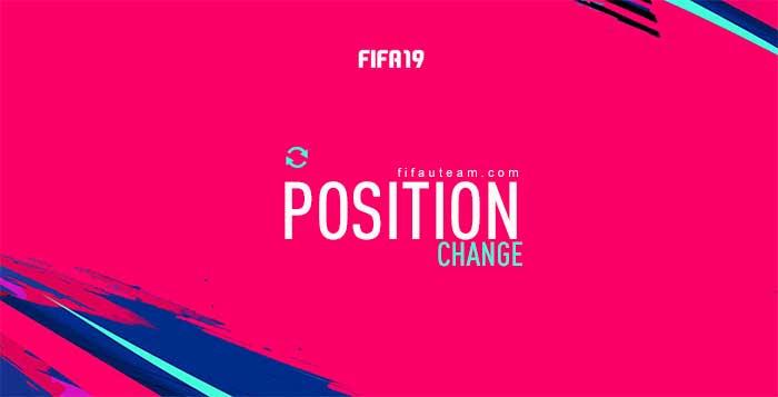Guia de Cartas de Mudança de Posição para FIFA 19