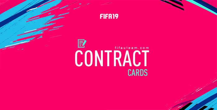 Guia de Cartas de Contratos para FIFA 19 Ultimate Team